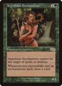 Argothian Enchantress, Magic: The Gathering, Urza's Saga
