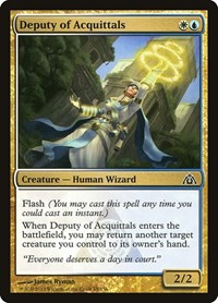 Deputy of Acquittals, Magic: The Gathering, Dragon's Maze