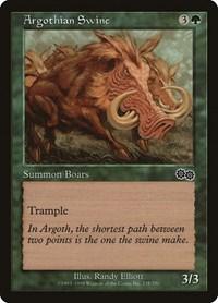 Argothian Swine, Magic: The Gathering, Urza's Saga