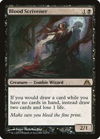 Blood Scrivener, Magic: The Gathering, Dragon's Maze