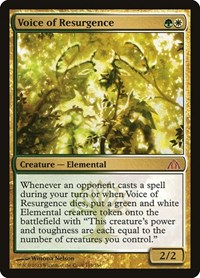 Voice of Resurgence, Magic: The Gathering, Dragon's Maze