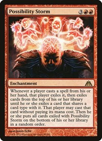 Possibility Storm, Magic: The Gathering, Dragon's Maze