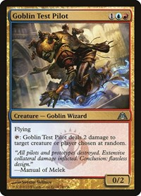 Goblin Test Pilot, Magic: The Gathering, Dragon's Maze