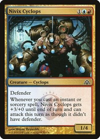Nivix Cyclops, Magic: The Gathering, Dragon's Maze