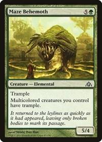 Maze Behemoth, Magic: The Gathering, Dragon's Maze