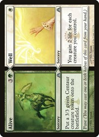 Alive // Well, Magic: The Gathering, Dragon's Maze