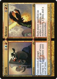 Catch // Release, Magic: The Gathering, Dragon's Maze