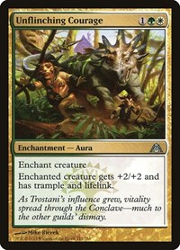 Unflinching Courage, Magic: The Gathering, Dragon's Maze