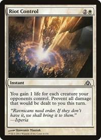 Riot Control, Magic, Dragon's Maze