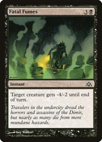 Fatal Fumes, Magic: The Gathering, Dragon's Maze