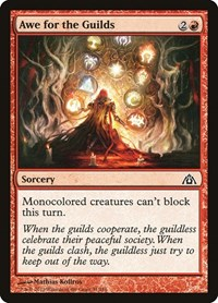 Awe for the Guilds, Magic: The Gathering, Dragon's Maze