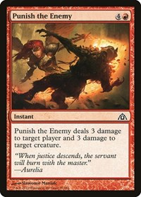 Punish the Enemy, Magic: The Gathering, Dragon's Maze