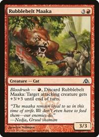 Rubblebelt Maaka, Magic, Dragon's Maze