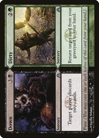 Down // Dirty, Magic: The Gathering, Dragon's Maze