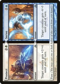 Protect // Serve, Magic: The Gathering, Dragon's Maze