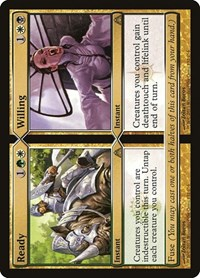 Ready // Willing, Magic: The Gathering, Dragon's Maze