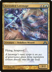 Ascended Lawmage, Magic: The Gathering, Dragon's Maze