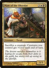 Maw of the Obzedat, Magic: The Gathering, Dragon's Maze