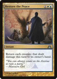 Restore the Peace, Magic: The Gathering, Dragon's Maze
