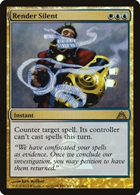 Render Silent, Magic: The Gathering, Buy-A-Box Promos