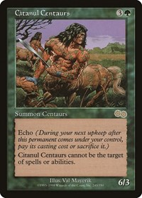 Citanul Centaurs, Magic: The Gathering, Urza's Saga