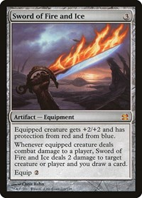 Sword of Fire and Ice, Magic: The Gathering, Modern Masters