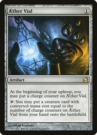 Aether Vial, Magic: The Gathering, Modern Masters