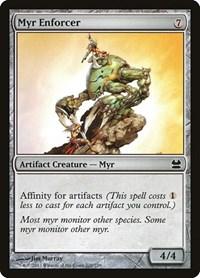 Myr Enforcer, Magic: The Gathering, Modern Masters
