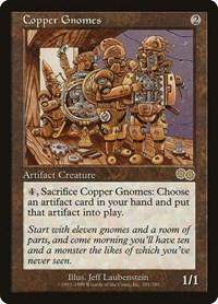 Copper Gnomes, Magic, Urza's Saga