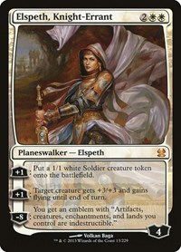 Elspeth, Knight-Errant, Magic, Modern Masters