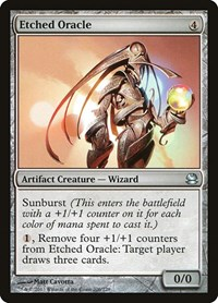 Etched Oracle, Magic: The Gathering, Modern Masters