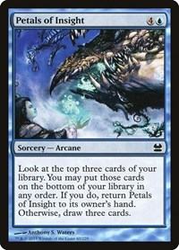 Petals of Insight, Magic: The Gathering, Modern Masters