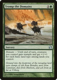 Tromp the Domains, Magic: The Gathering, Modern Masters