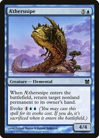 Aethersnipe, Magic: The Gathering, Modern Masters