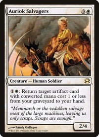 Auriok Salvagers, Magic: The Gathering, Modern Masters