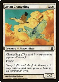 Avian Changeling, Magic: The Gathering, Modern Masters