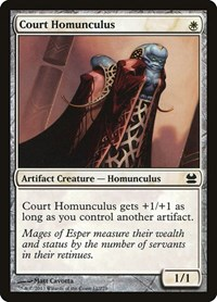 Court Homunculus, Magic: The Gathering, Modern Masters