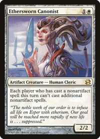 Ethersworn Canonist, Magic: The Gathering, Modern Masters