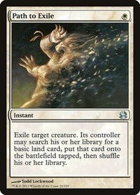 Path to Exile, Magic: The Gathering, Modern Masters