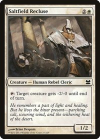Saltfield Recluse, Magic: The Gathering, Modern Masters