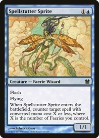 Spellstutter Sprite, Magic, Modern Masters