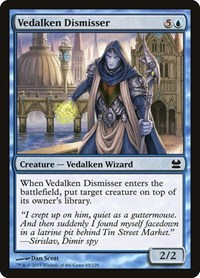 Vedalken Dismisser, Magic: The Gathering, Modern Masters