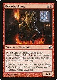 Grinning Ignus, Magic: The Gathering, Modern Masters