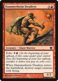 Hammerheim Deadeye, Magic: The Gathering, Modern Masters