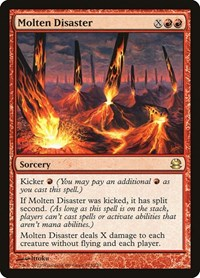Molten Disaster, Magic: The Gathering, Modern Masters