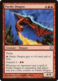 Pardic Dragon, Magic: The Gathering, Modern Masters