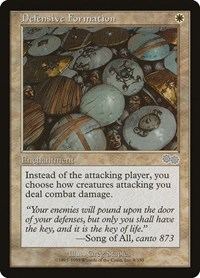 Defensive Formation Urza/'s Saga Magic Card MTG