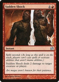 Sudden Shock, Magic: The Gathering, Modern Masters
