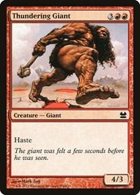 Thundering Giant, Magic, Modern Masters