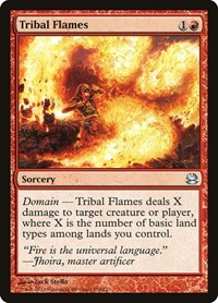 Tribal Flames, Magic: The Gathering, Modern Masters